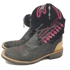 Ariat 9 B Women's 10006853 Fatbaby Cowboy Boots